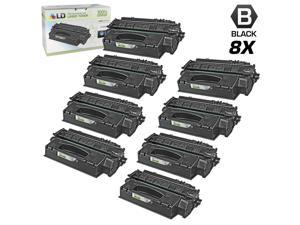 LD © Remanufactured Replacements for Hewlett Packard Q5949X (HP 49X) 8PK HY Black Toner Cartridges for HP LaserJet 1320, ...