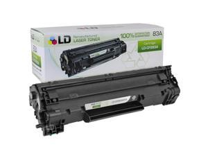 LD© Remanufactured Replacement 83A Black Laser Toner Cartridge for Hewlett Packard CF283A for use in HP  LaserJet Pro MFP ...