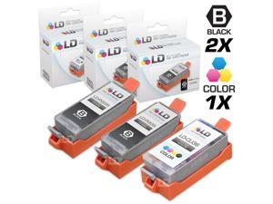 LD © Compatible Canon PGI35 and CLI36 Set of 2 Ink Cartridges: Includes 1 Black and 1 Color Cartridge for use in the Canon ...
