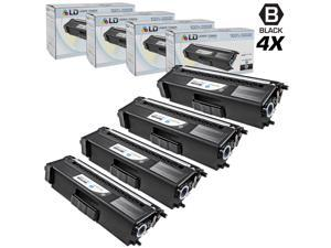 LD © Compatible Brother Black TN315 Set of 4 Toner Cartridges for use in HL-4150cdn, HL4570cdw, HL-4570cdwt, MFC-9460cdn, ...
