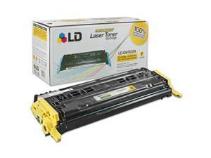 LD © Remanufactured Replacement Laser Toner Cartridge for Hewlett Packard Q6002A (HP 124A) Yellow
