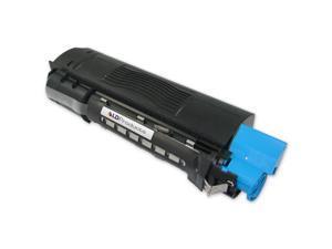 LD © Compatible Replacements for Okidata 42127403 2PK HY Cyan Toner Cartridges for OKI C5100n, C5150n, C5200n, C5250, C5300n, ...