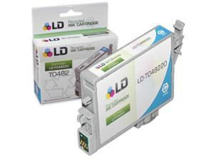 LD © Remanufactured Replacement for Epson T048220 (T0482) Cyan Inkjet Cartridge for use in Epson Stylus Photo R200, R220, ...