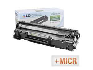 LD © (MICR Toner) Remanufactured Replacement Laser Toner Cartridge for Hewlett Packard CE278A (HP 78A) Black