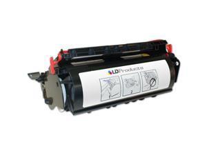LD © Remanufactured Black Laser Toner Cartridge for Lexmark 12A6735 (Optra T520, T522)
