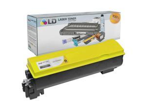 LD © Kyocera-Mita Compatible TK562Y Yellow Laser Toner Cartridge for use in FS-C5300DN, FS-C5350DN, and P6030cdn Printers