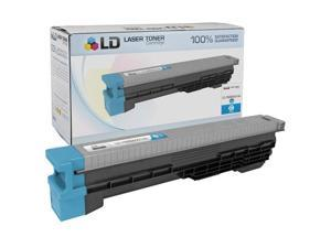 LD © Compatible High Yield Cyan Laser Toner Cartridge for Canon 7628A001AA (GPR11 C)