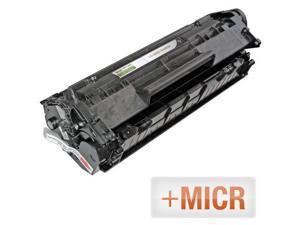 LD © (MICR Toner) Remanufactured Replacement Laser Toner Cartridge for Hewlett Packard Q2612A (HP 12A) Black