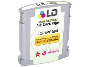 LD © Remanufactured Replacement Ink Cartridge for Hewlett Packard C9426A (HP 85) Magenta
