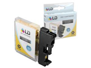 LD © Brother Compatible LC65Y High Yield Yellow Ink cartridge. (LC65 Series) for use in the MFC-5890CN, MFC-5895CW, MFC-6490CW ...