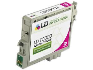 LD © Remanufactured Replacement for Epson T060320 Magenta Pigment Based Inkjet Cartridge for use in Epson Stylus C68, C88, ...