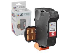 LD © Remanufactured Replacement for NeoPost 4145144H Fluorescent Red Inkjet Cartridge for use in NeoPost IJ25