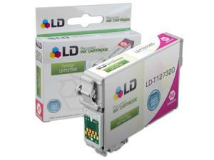 LD Remanufactured Replacement for Epson T127320 T1273 Extra HY Magenta Pigment Based Ink Cartridge for the Stylus NX530, ...