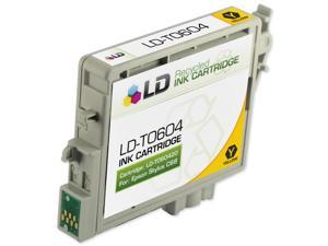 LD © Remanufactured Replacement for Epson T060420 Yellow Pigment Based Inkjet Cartridge for use in Epson Stylus C68, C88, ...