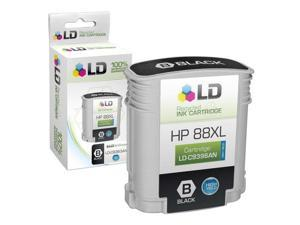 LD © Remanufactured Replacement for Hewlett Packard C9396AN 80XL / 80 High Yield Black Inkjet Cartridge for use in HP OfficeJet ...