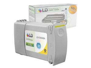 LD © Remanufactured Replacement Ink Cartridge for Hewlett Packard C4848A 80XL / 80 High-Yield Yellow