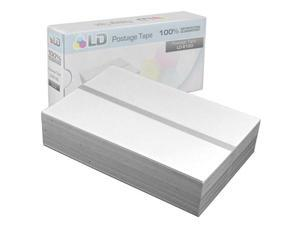 LD © Compatible Replacement for Pitney Bowes 612-0 Postage Tape Double Sheets (300 Tapes, 150 Per Box)