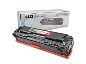 LD © Remanufactured Replacement for HP CB543A / 125A Magenta Laser Toner Cartridge for HP Color LaserJet CM1312 MFP, CM1312nfi, ...