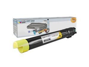 LD © Compatible Xerox 6R1396 / 006R01396 Yellow Laser Toner Cartridge for WorkCentre 7425, 7425, and 7435 Printer Series