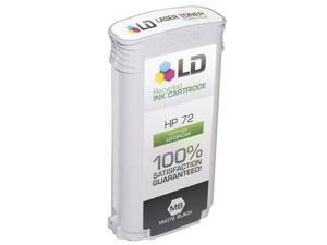 LD © Remanufactured Replacement for Hewlett Packard C9403A (HP 72) HY Matte Black Ink Cartridge for HP DesignJet T1100, T1100ps, ...