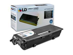 LD © Compatible Brother TN460 High Yield Black Laser Cartridge Unit (TN460)