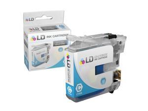 LD © Brother Compatible LC105C Super High Yield Cyan Ink Cartridge for use in MFC-J4310DW, MFC-J4410DW, MFC-J4510DW, MFC-4610DW ...