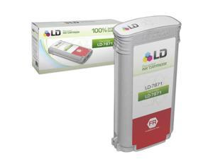 LD © Remanufactured Replacement for Pitney Bowes Fluorescent Red 787-1 Inkjet Cartridge