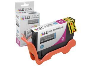 LD © Compatible Replacement for Lexmark 14N1616 150XL / 150 High Yield Magenta Inkjet Cartridge for use in Lexmark All-In-One ...