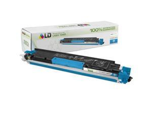 LD © Remanufactured Replacement for Hewlett Packard CE311A (HP 126A) Cyan Laser Toner Cartridge for use in HP Color LaserJet ...