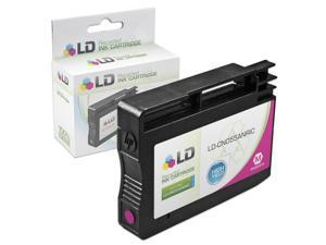 LD © Remanufactured Replacement Ink Cartridge for Hewlett Packard CN055AN 933XL / 933 High-Yield Magenta for use in OfficeJet ...