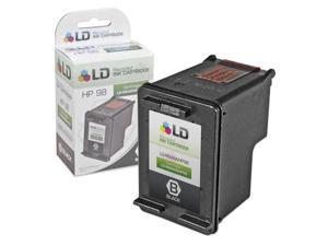 LD © Remanufactured Replacement Ink Cartridge for Hewlett Packard C9364WN (HP 98) Black