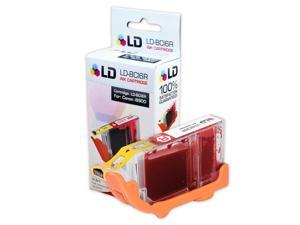LD © Compatible Replacement for Canon BCI-6R Red Inkjet Cartridge for use in Canon i9900, and PIXMA iP8500 Printers