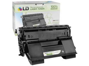 LD © Remanufactured Replacement for Okidata 52123601 Black Laser Toner Cartridge for use in Okidata OKI B710dn, B710n, B720dn, ...