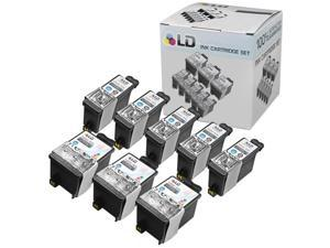 LD Compatible Replacement for Kodak 30XL /30 8 PK High Yield Ink Cartridges Includes: 5 1550532 HY Black, and 3 1341080 HY ...