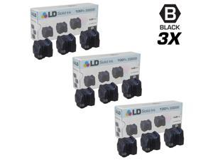 LD © Compatible Replacements for Xerox 108R00726 Set of 9 Black Solid Ink ColorStix Cartridges for use in Phaser 8560, 8560DN, 8560MFP, 8560N, 8560DX, & 8560DT Printers