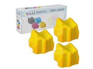 LD © Xerox Phaser 8560 Compatible Yellow (3 pack) 108R00725 / 108R725 Solid Ink ColorStix Cartridge for the Phaser 8560, ...