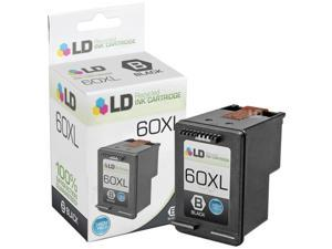 LD © Remanufactured Replacement Ink Cartridge for Hewlett Packard CC641WN 60XL / 60 High-Yield Black