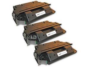 LD Remanufactured Replacement Laser Toner Cartridges for HP C4127X (27X) Black (3 Pack) for the LaserJet 4000n, 4050se, 4000se, ...