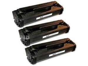 LD © Remanufactured Replacement Laser Toner Cartridges for Hewlett Packard C3906A (HP 06A) Black (3 Pack)