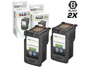 LD © Canon Remanufactured PG210XL / PGI210 Set of 2 High Yield Ink Cartridges: Includes 2 Black PG-210XL