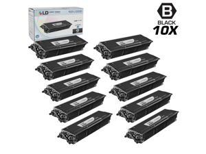LD © Compatible Brother TN580 (TN550) Set of 10 HY Black Cartridges for DCP-8060, DCP-8065DN, HL-5200, HL-5250DN, HL-5250DNT, ...