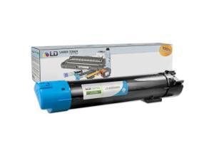 LD © Compatible Replacement for Dell 330-5850 Cyan High Yield Laser Toner Cartridge for use in Dell Color Laser 5120cdn, 5130cdn, and 5140cdn Printers
