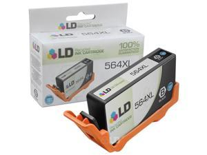 LD © Remanufactured Replacement Ink Cartridge for Hewlett Packard CN684WN HP 564XL / 564 High-Yield Black - Shows Accurate Ink Levels