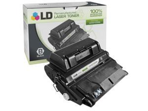 LD © Remanufactured Replacement for Hewlett Packard Q1339A (HP 39A) Black Laser Toner Cartridge for use in HP LaserJet 4300, ...