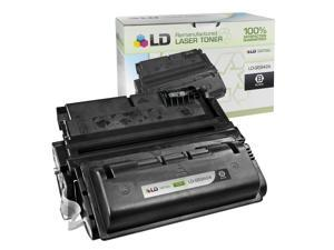 LD Remanufactured Replacement Laser Toner Cartridge for HP Q5942A (42A) Black for the LaserJet 4250tn, 4250, 4350dtn, 4350n, ...