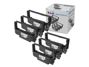 LD © Epson Compatible Replacement 6 Pack Black POS Ribbon Cartridges - ERC-38B