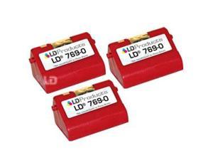 LD © 3 PB Compatible 769-0 Red Ink Cartridges
