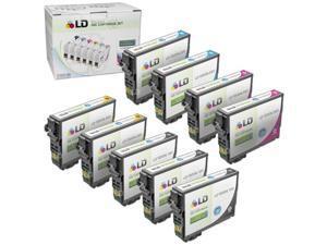 LD Epson Bulk Set of 9 HY T200XL / T200 Ink Cartridges - 3 Blk T200XL120 & 2: Cyan T200XL220, Magenta T200XL320 & Yellow ...