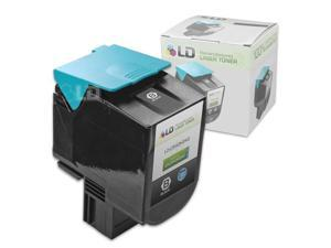LD © Remanufactured High Yield Black Laser Toner Cartridge for Lexmark C540H2KG