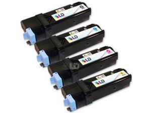 LD © Compatible Set of 4 HY Xerox Phaser 6130 / 6130N Toner Cartridges: 1 Black 106R01281, 1 Cyan 106R01278, 1 Magenta 106R01279, ...